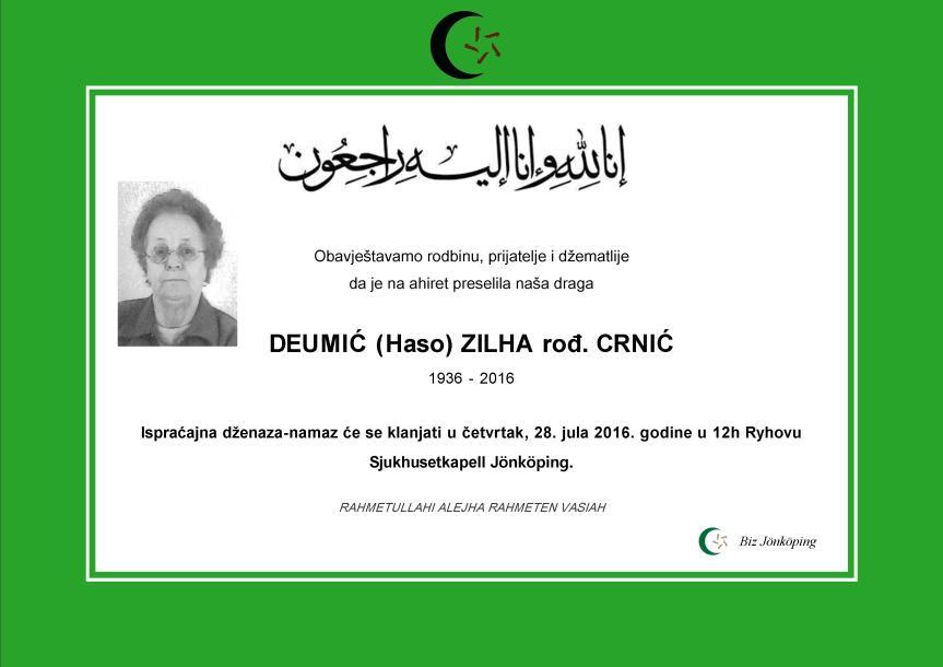DEUMIC ZILHA