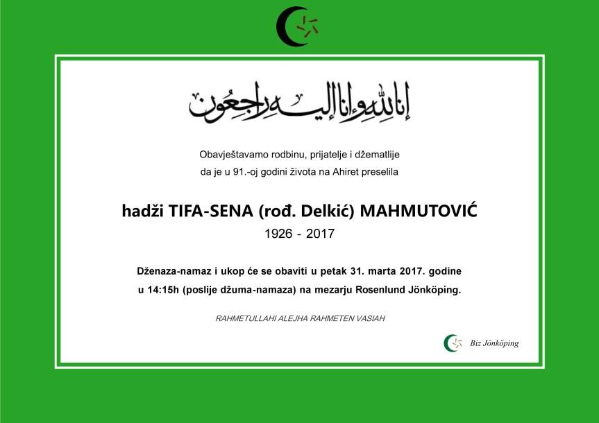 Tifa Mahmutovic