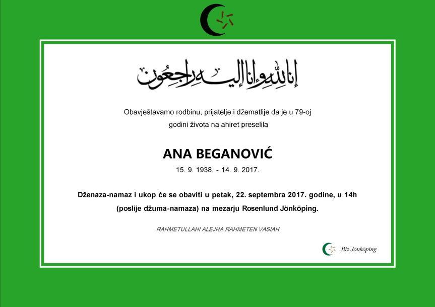 Ana Beganovic