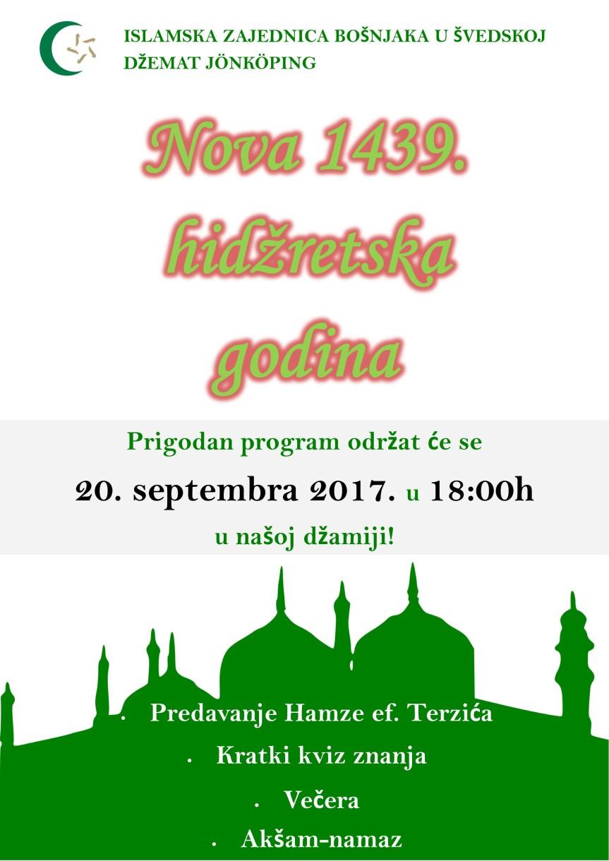 hidzretska 2017. 1439