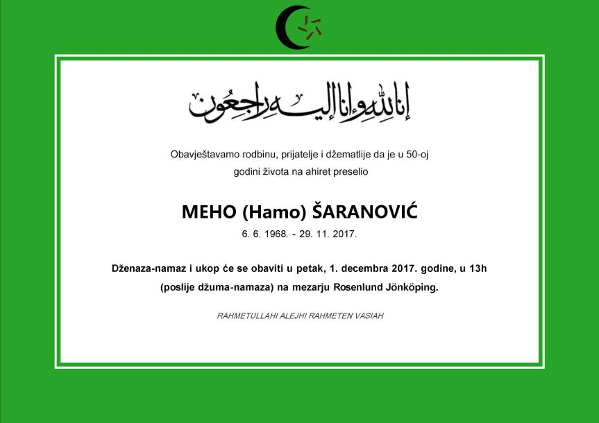 Meho Saranovic