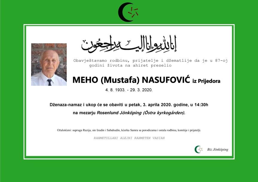 Meho Nasufovic